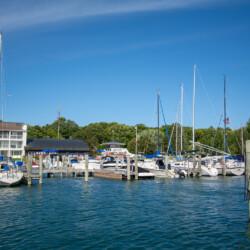 Northwest Marine Yacht Club marina views